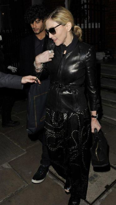 Madonna dines with Jesus, Gwyneth, Stella and Valentino in London