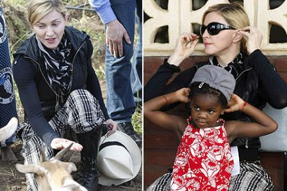 Madonna in Mercy trip to Malawi