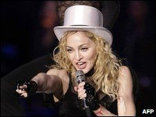 Madonna 'most played' artist of decade