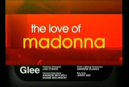 Glee: The Power of Madonna Promo