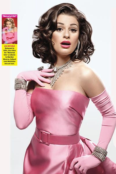 Cast of 'Glee' channels Madonna for TV Guide Magazine