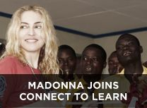 Madonna launches 'Connect To Learn', a new Global Education Initiative