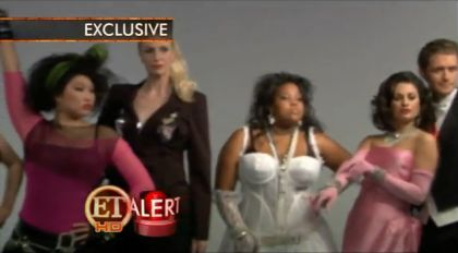 Glee in Material Girl Mode HD