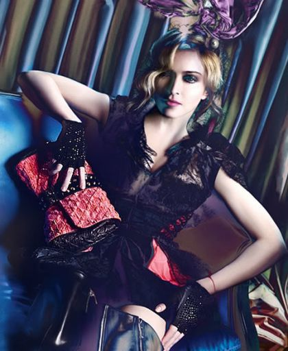 Madonna in Louis Vuitton ad