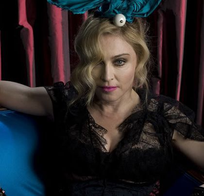 Madonna seen without airbrushing looking her age