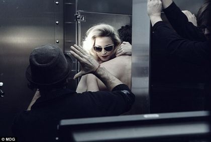 Madonna at work: Another day at the office