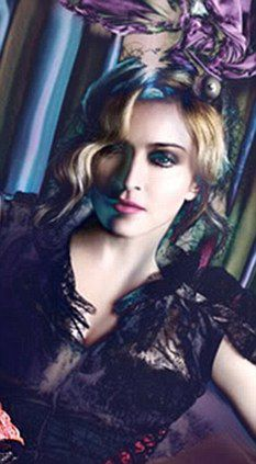Unretouched photos of Madonna from Louis Vuitton campaign released