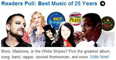 Vote for Madonna at SPIN's 25th Anniversary Readers Poll