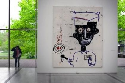Basel retrospective pays homage to US artist Basquiat