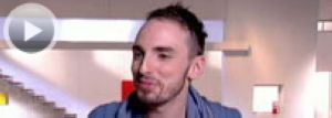 Christophe Willem talks about Madonna: he has Madonna's cup!