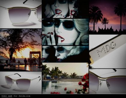 Get your beach style fix with MDG sunglasses 2