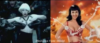 Lady Gaga and Katy Perry inspired by Madonna