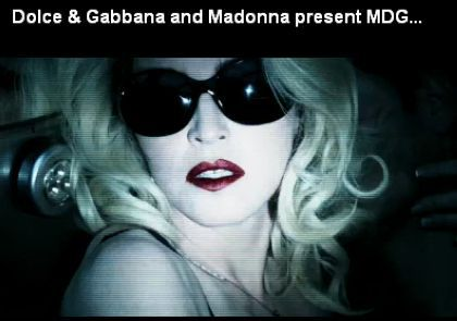 Hide or shine with MDG by Madonna and Dolce & Gabbana