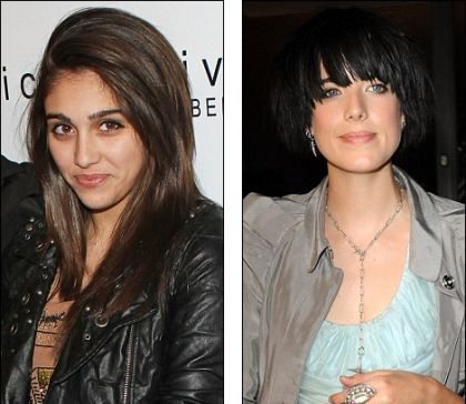 Madonna's daughter Lourdes inspired by Agyness Deyn for fashion