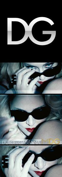 Dolce&Gabbana for Madonna: MDG Sunglasses Ads Campaign