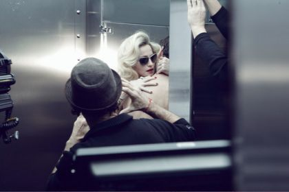 Dolce&Gabbana for Madonna: MDG Sunglasses Backstage Photos