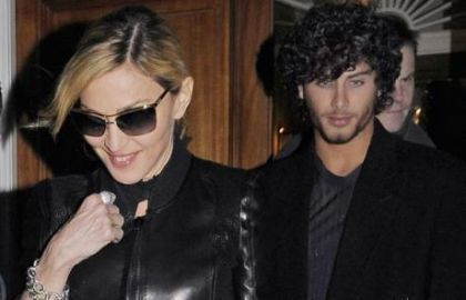 Jesus Luz back at Madonna's home in London