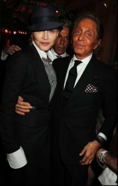 Photos: Madonna with Valentino and Paltrow at Furstenberg party