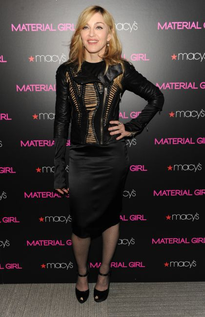 Madonna's Material Girl Collection: Madonna promoting the Collection