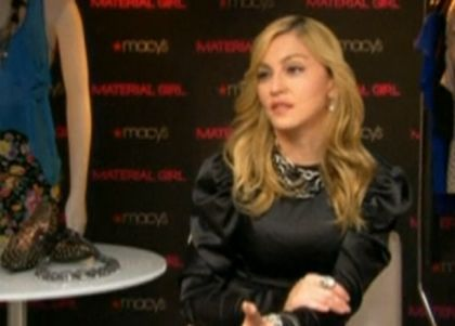 Videos: Madonna talks about her Material Girl Collection