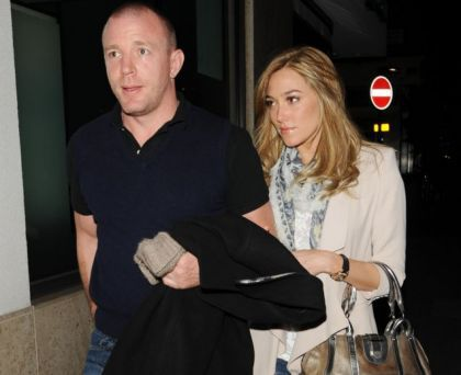 Guy Ritchie with Jacqui Ainsley at Gala Charity on July 10, 2010