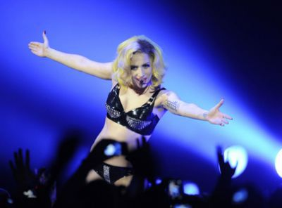 Lady Gaga does Madonna in Toronto