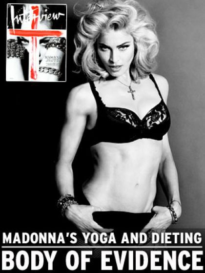 Madonna's body of evidence for yoga and dieting