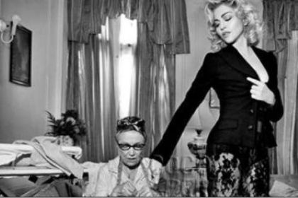 New pictures from Madonna's D&G 2010 Fall Campaign