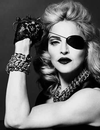 PHOTOS: Madonna Dares To Bare In Edgy Interview Shoot