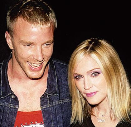 Madonna and Guy Ritchie: Anyone you can do, I can do better