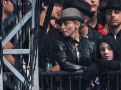Madonna and Jesus at Jay-Z show, Wireless Festival, London on July 4, 2010