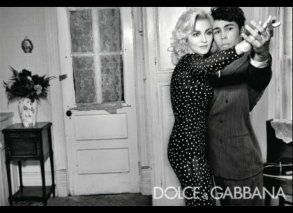 Madonna For Dolce&Gabbana: Plays With Baby, Poses With Italian Family