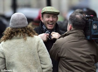 Guy Ritchie in London back in December 2008 shooting Sherlock Holmes