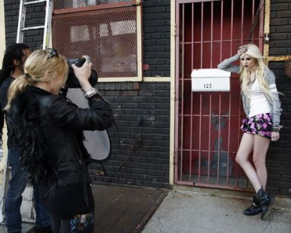 Madonna Photographs Material Girl Campaign