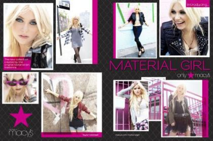 Madonna, Iconix Brand Group and Macy's Launch Material Girl