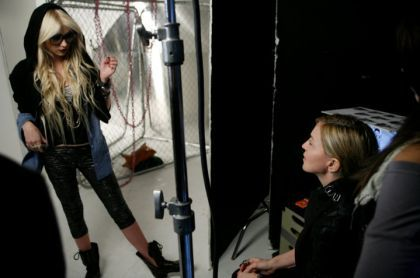MaterialGirlCol: Exclusive outtake of Madonna and Taylor Momsen