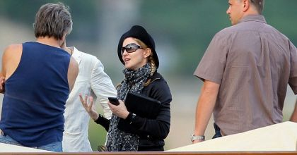 Madame la director: Madonna goes filming in the South of France