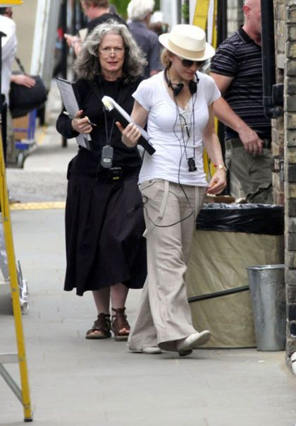 Photos: Madonna in streets of London shooting ''W.E.'' - July 20, 2010