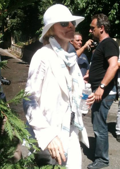 Madonna shoots ''W.E.'' in France