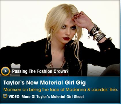 Videos: Material Girl photo shoot with Taylor, Madonna and Lourdes