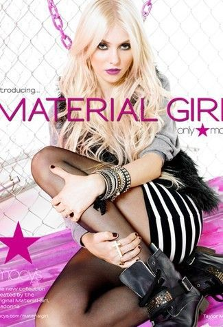 Taylor Momsen Talks Material Girl Gig