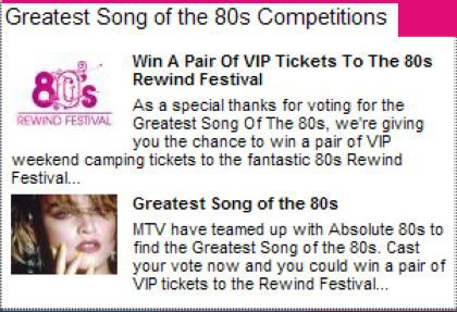 Vote for Madonna for the ''Greatest Song of the 80s''