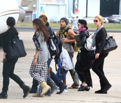 Madonna leaving Paris, France - August 2, 2010