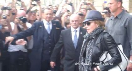 Video: Madonna leaving hotel in Paris on July 31, 2010 to shoot ''W.E.''