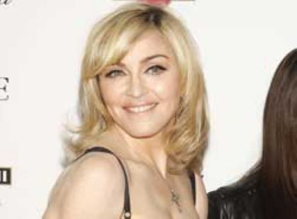 Madonna shoots Material Girl campaign