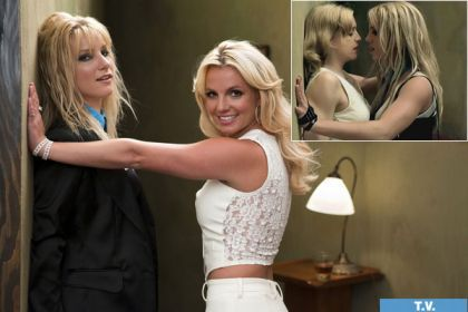 Britney Spears' Madonna moment on ''Glee''