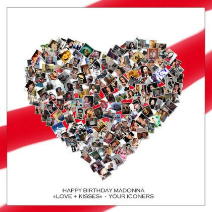 Iconers 2010 Birthday Card For Madonna Madonna Fans World