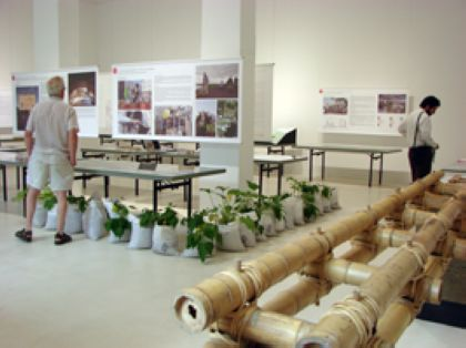 Madonna's Malawi School at the Architecture Aedes exhibition in Berlin
