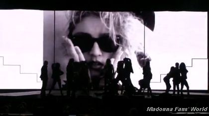 Madonna's ''Material Girl'' Sequence at Macy's Glamorama