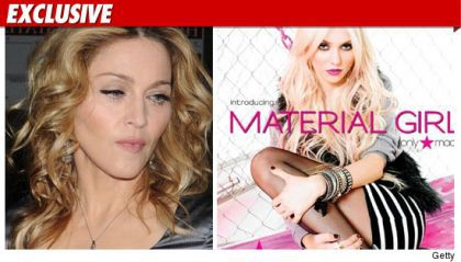 The press on Madonna sued over Material Girl clothing collection